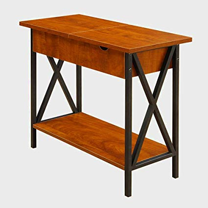Amazon.com: Narrow End Table With Storage For Living Room or Bedroom