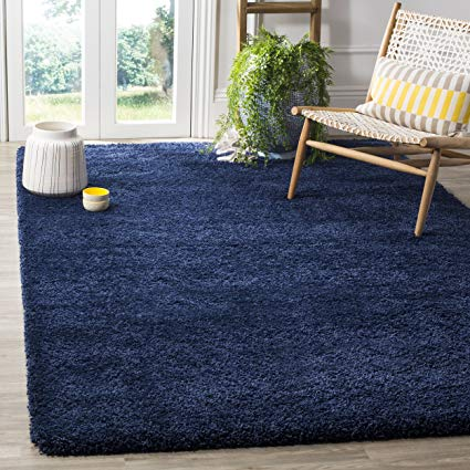 Navy Blue Rug   Reflects Tranquility