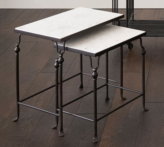 Monty Nesting Tables | Pottery Barn