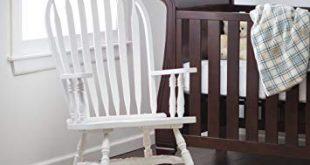 Amazon.com: Windsor Baby Nursery Rocking Chair - White: Baby