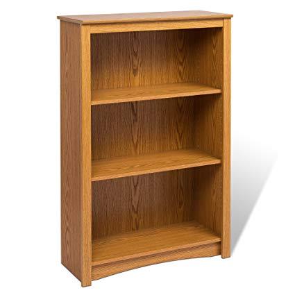 Amazon.com: Oak 4-shelf Bookcase: Kitchen & Dining