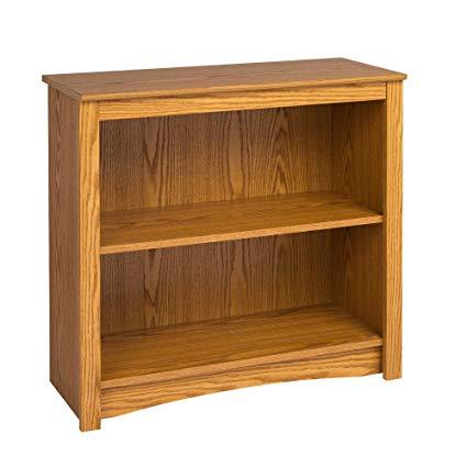 Amazon.com: Oak 2-shelf Bookcase: Kitchen & Dining