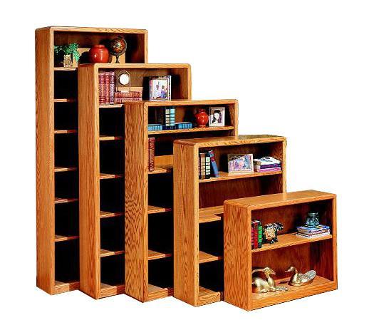 OD-O-C3672 - Contemporary Oak Bookcase 36
