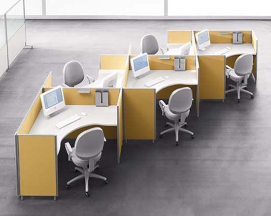 Office furniture for administrative office space on 3rd floor