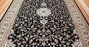 Amazon.com: Black 8x11 Persian Rug Oriental Rugs 8x10 Area Rug