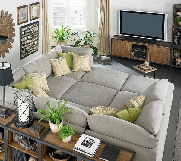 Oversized couches u2013 welcoming and comfortable or huge and clumsy?