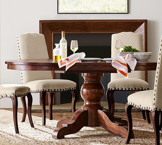 Sumner Extending Pedestal Dining Table | Pottery Barn