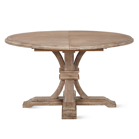 Archer Round Extendable Dining Table | Z Gallerie