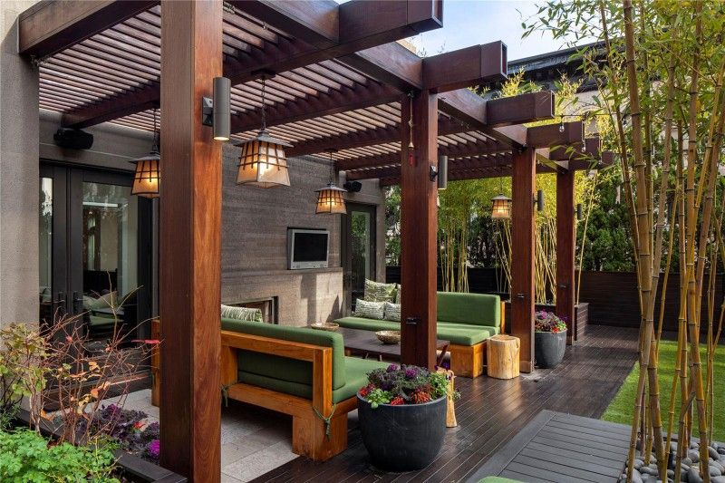 25 Beautiful Pergola Design Ideas | Pergolas | Deck with pergola
