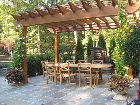 Pergola Design Ideas to Make Your Outdoor Comfortable - YouTube