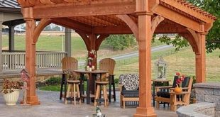 Wood & Vinyl Pergola Kits | Country Lane Gazebos