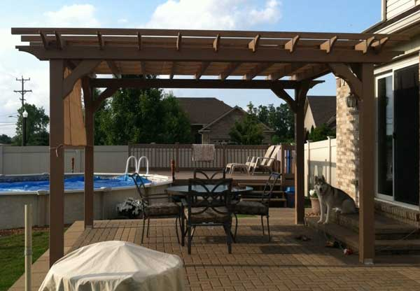 DIY pergola kits from Alan's Factory Outlet for Easy and Fast Assembly