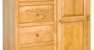 Pine Wardrobe Armoire from DutchCrafters Amish Furniture