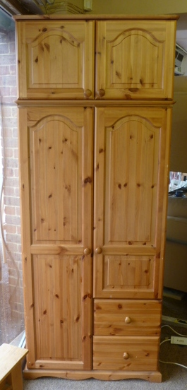 SECOND HAND Pine Wardrobes - bedroom furniture - Home From Home