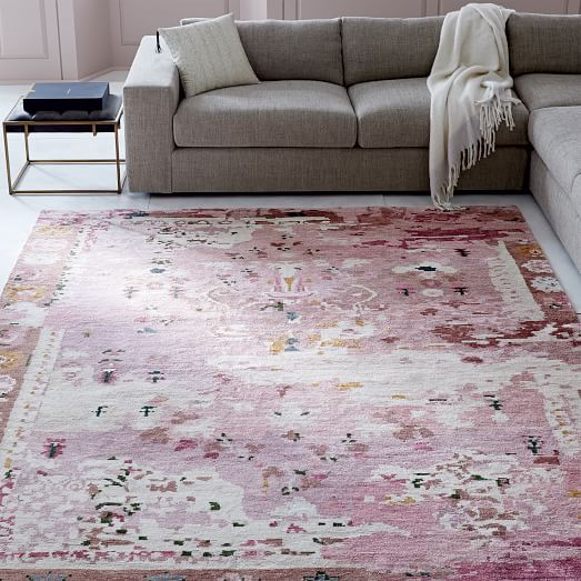 Persian-Style Rug - Pink | west elm