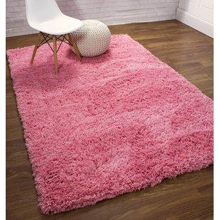 Pink Plush Rugs You'll Love | Wayfair
