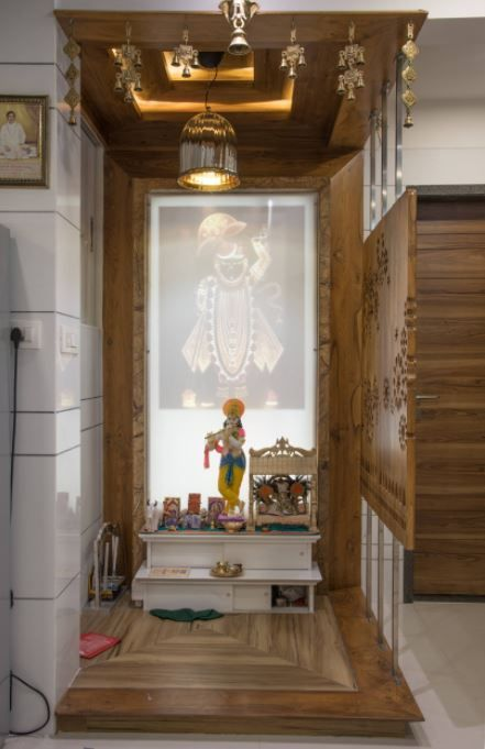 Latest Pooja Room Designs for Indian Homes - Home Makeover | myhome