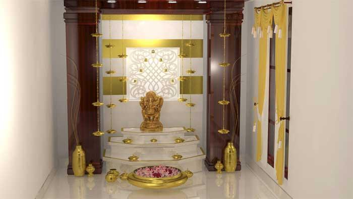 Pooja Room Designs, Decoration Ideas with Images - Decor Pooja Room