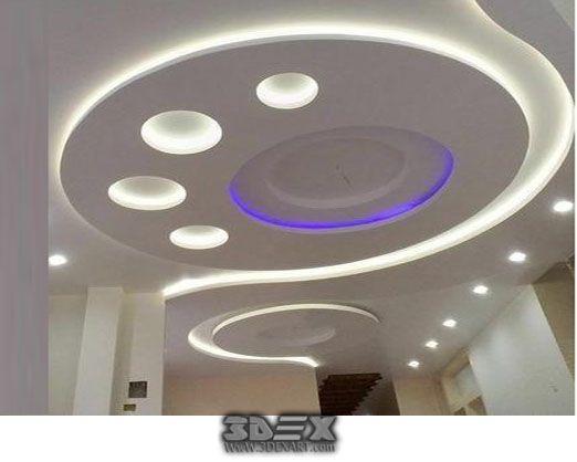 Latest POP design for hall, 50 false ceiling designs for living
