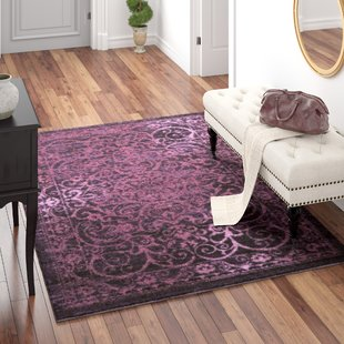 Plum Purple Area Rug | Wayfair