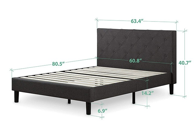 What is the Size of a Queen Bed Frame? | The Sleep Judge