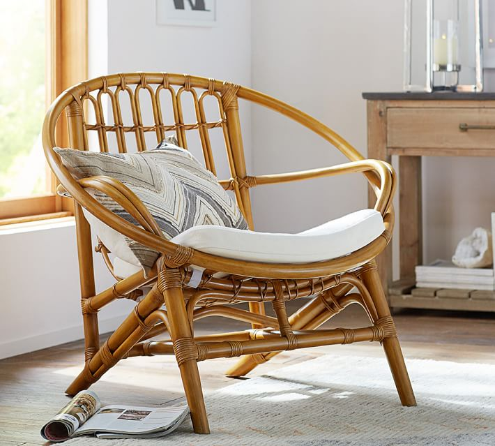 Luling Rattan Chair | Pottery Barn
