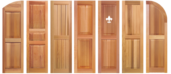 Southern Shutter Company | Exterior | Interior Wood Shutters, Gable