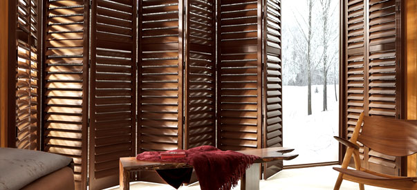 Real Wood Shutters for Added Window Decor