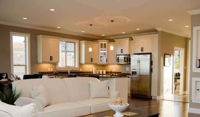 Benefits of recessed lighting - installation by Electrical Contractor