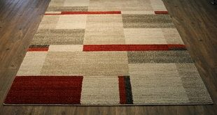 Area Rugs With Red And Beige | Wayfair