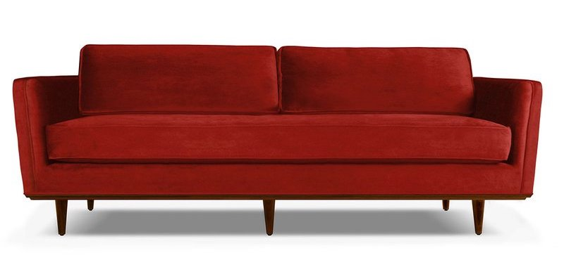 12 Fabulous Red Sofas for Your Living Room