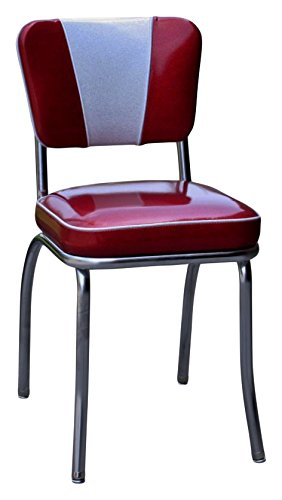 Amazon.com - Richardson Seating 4220ZBU Retro V-Back Diner Chair