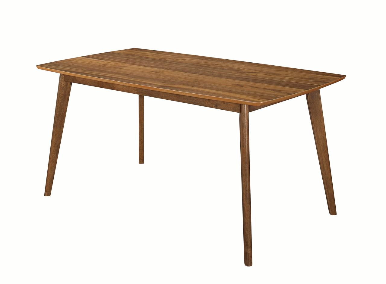 Coaster Company Garcetti Retro Dining Table, Walnut