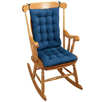 Amazon.com: Rocking Chair Cushion - Blue: Home & Kitchen