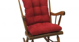 Gripper Jumbo Rocking Chair Cushions, Nouveau - Walmart.com