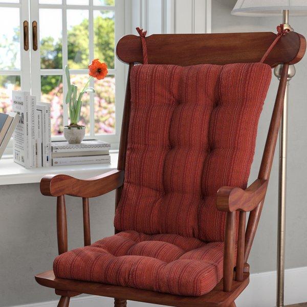 Andover Mills Universal Rocking Chair Cushion & Reviews   Wayfair