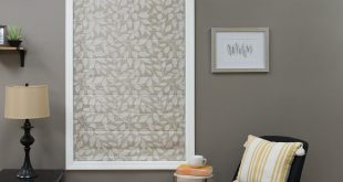 Simple Roman Shades for Less | JustBlinds