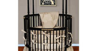 Amazon.com : Baby Doll Bedding Sensation Round Crib Bedding Set