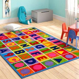 Kids Room Rugs For Girls | Wayfair