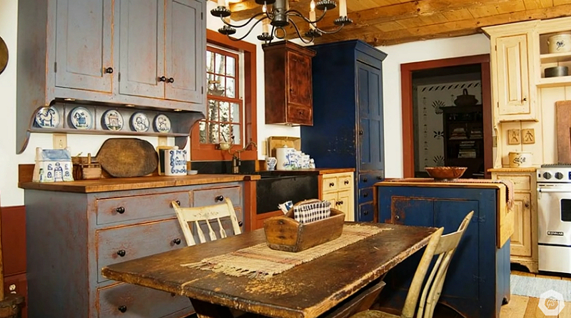Rustic Country Style   Interior Design Ideas (VIDEO)   Living Country