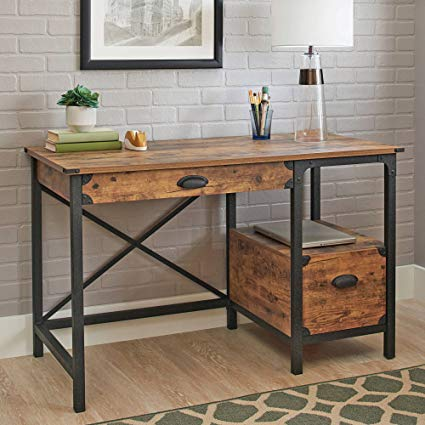 Amazon.com: Better Homes and Gardens Rustic Country Desk, Weathered