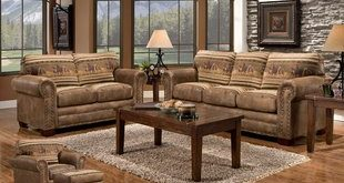 Rustic Living Room Sets You'll Love | Wayfair