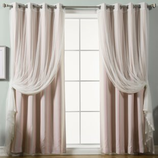 Pink Shabby Chic Curtains | Wayfair