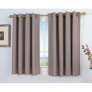 Grey Short Curtains | Wayfair