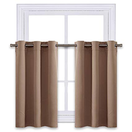 Amazon.com: NICETOWN Short Curtains Blackout Nursery Valance