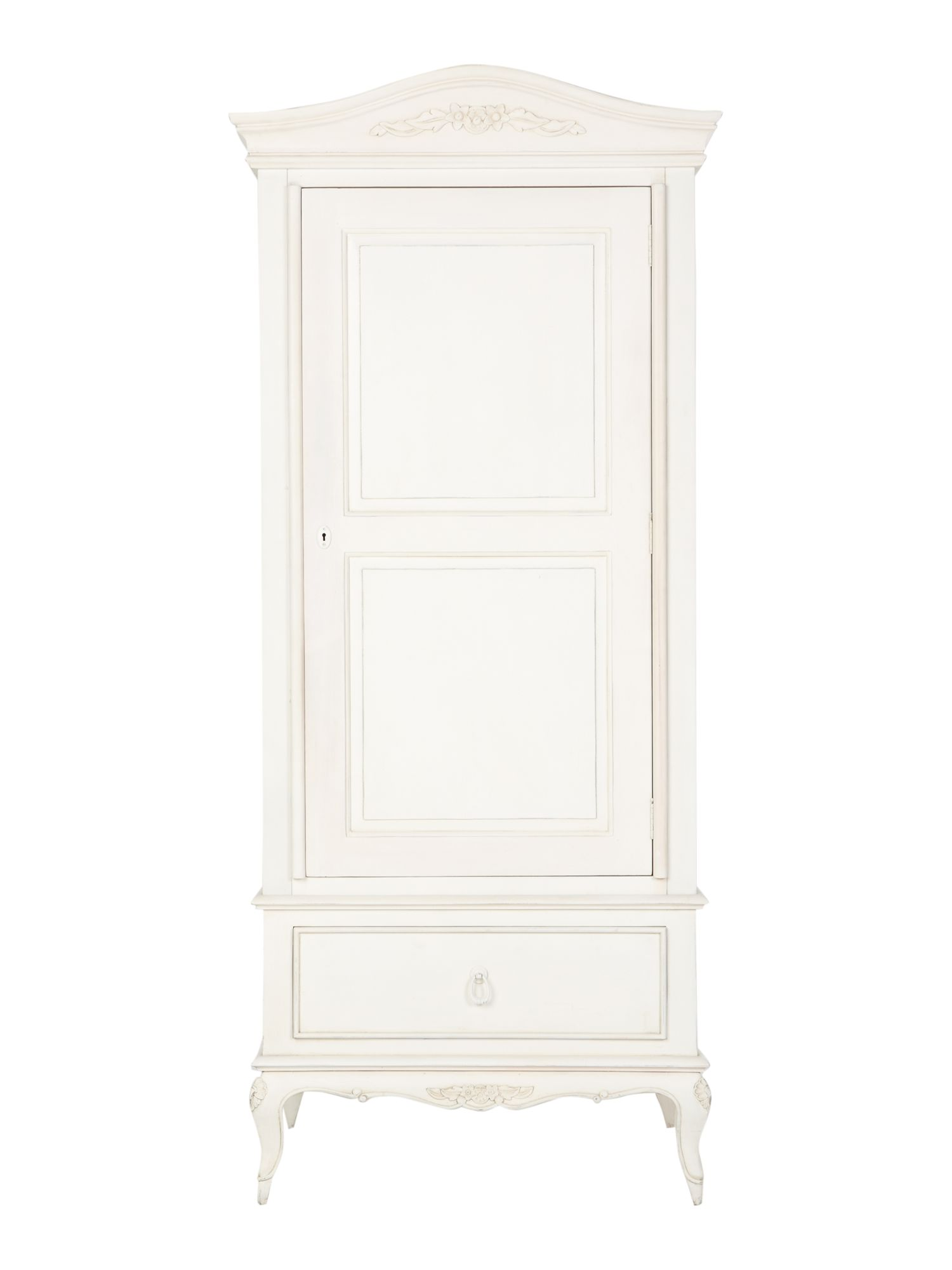 Shabby Chic Primrose Single Wardrobe With Drawer - House of Fraser