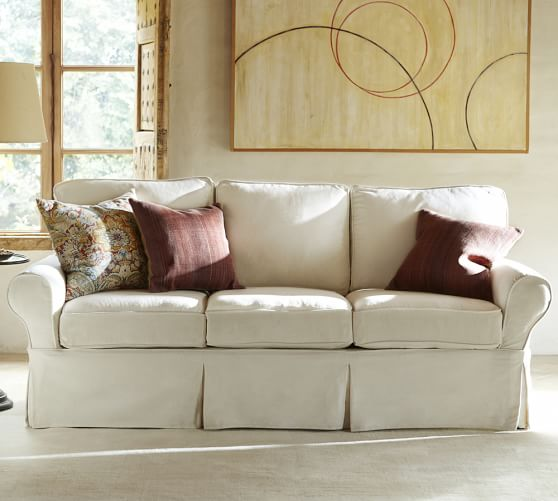 PB Basic Furniture Slipcovers | Pottery Barn