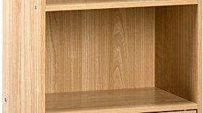 Amazon.com: Comfort Products Small Modern Bookshelf, Oak: Kitchen