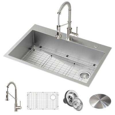 Stainless Steel - Kitchen Sinks - Kitchen - The Home Depot