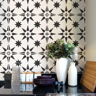 Stencils for Walls Bring Fast and   Refreshing Change in the Interior